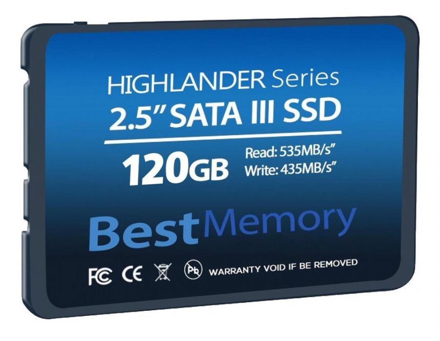 SSD BEST MEMORY HIGHLANDER SERIES 120GB BTSDA-120G-535